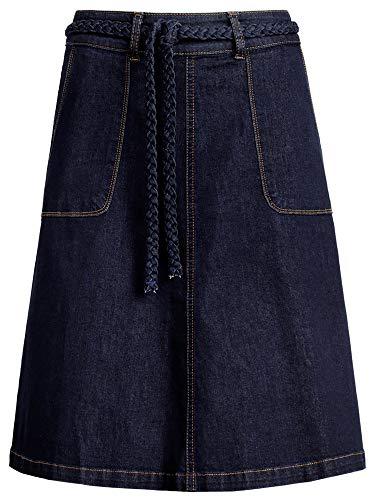 Trapèze Bleu King Louie Femme Uni Jupe Encre qxxPXHEvw