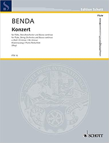 Franz Benda Flute Concerto In E Minor Pdf Download