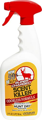 Wildlife Research Super Charged Scent Killer Spray, 24-Ounce