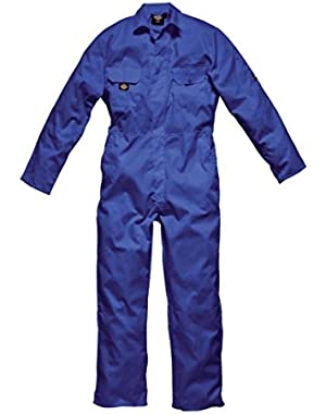 Mens Redhawk Economy Stud Front Coverall Royal/R