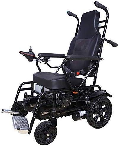 MJ-Brand Silla de Ruedas eléctrica para discapacitados de Edad Avanzada Silla de Ruedas trepadora Ventas directas Escaleras de Escalada eléctrica Silla de Ruedas Arriba Escaleras de Silla de Ruedas