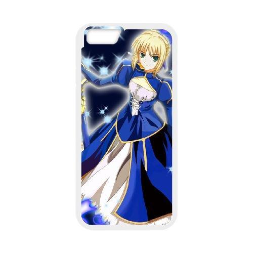Fate Stay Night 031 coque iPhone 6 Plus 5.5 Inch Housse Blanc téléphone portable couverture de cas coque EOKXLLNCD12428
