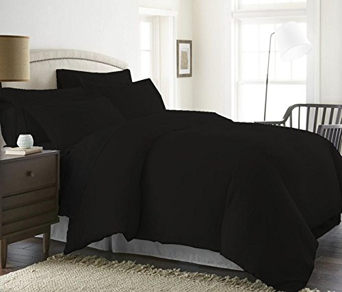 1000 Thread Count Duvet Cover Set 3 Piece With Zipper & Corn