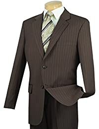 Men's Pinstriped 2 Button Classic-Fit Suit New
