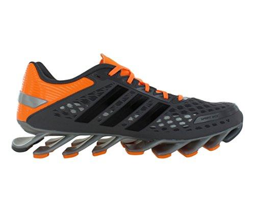 Adidas Hombre Springblade de frecuencia funcionando Zapatos - Running White / negro / blanco (6,5) Shargre / Solzes / Tegrme