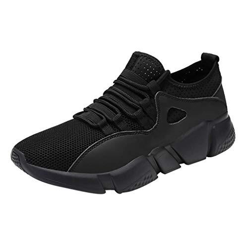 Caopixx Men's Quick Drying Aqua Water Shoes Mesh Outdoor Walking Sneakers Lightweight Sports Running Shoes