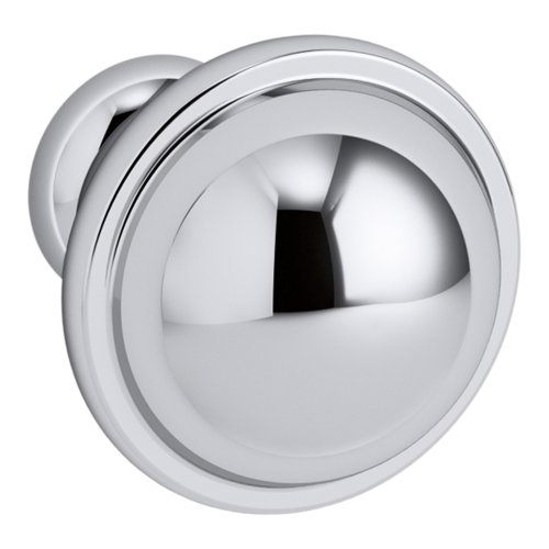 Kohler Cabinet Knobs - KOHLER K-99686-HF1 Damask Knob in Polished Chrome