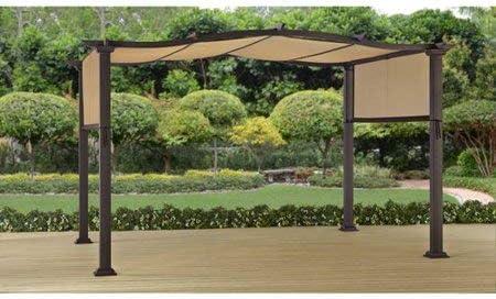 Mejor casas y jardines Costa esmeralda 12 x 10 acero Pergola: Amazon.es: Hogar