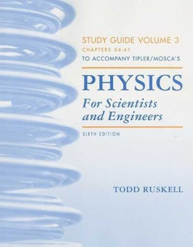 Physics for Scientists and Engineers Study Guide, Vol. 3
