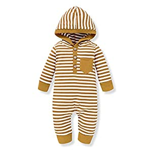 Best Epic Trends 41yx72U0oOL._SS300_ Baby Boy Sibling Clothes Family Matching Outfits Little Brother Striped Romper Big Brother Hoodie Sweatshirt Top Fall