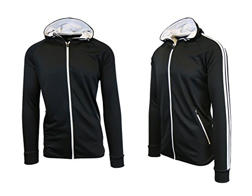 Galaxy Performance Mens Essential Tricot Track Jacket