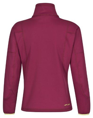 Jeff Green Softshell Pullover Jess - Prenda morado