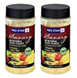 Red Star Yeast Flake Nutritional Shaker Jar, 5 oz (Pack of 2)