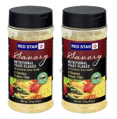 Red Star Yeast Flake Nutritional Shaker Jar, 5 oz (Pack of 2) by Red Star (Image #5)