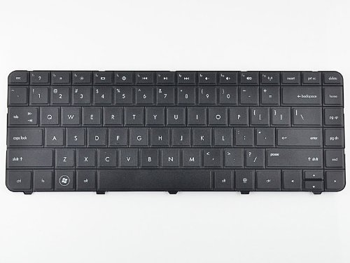 Eathtek Replacement Keyboard For TOSHIBA SATELLITE C655-S5128 C655-S5047 C655-S5049 C655-S5211 C655-S5212 C655-S5221 C655-S5082 C655-S5090 C655-S5061 C655-S5113 C655-S5132 C655-S5142 series Black US Layout