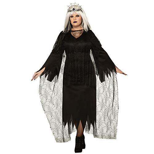 Largemouth Forum Women's Spider Mistress Plus Size Costume Dress ()