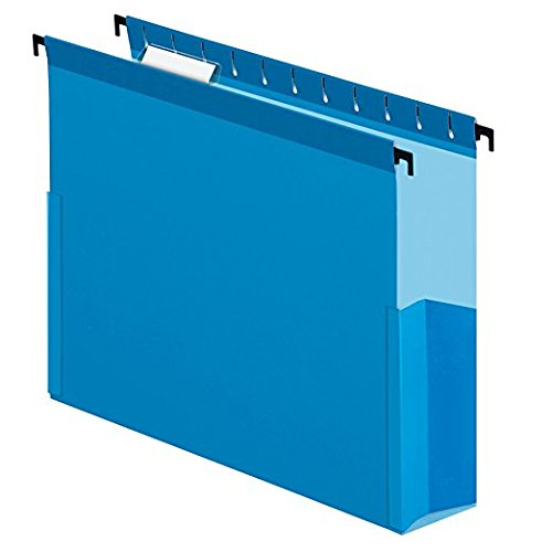 Pendaflex Surehook Reinforced Extra Capacity Hanging Box Files, 3-Inch Capacity, 5 Tab Positions, Letter Size, 25 Per Box (59203) 3-Pack