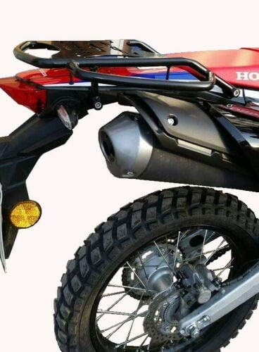 Inpreda Top Case Carrier Rack Stainless Steel Compatible with Honda CRF250 Rally