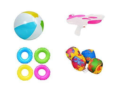Girl Toy Outdoor Activity Bundle Kids Spring (Bonus Dino Blue) Summer Bundle Swimming Pool Soaker Set