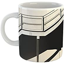 Westlake Art - Stairs Stairway - 15oz Coffee Cup Mug - Modern Picture Photography Artwork Home Office Birthday Gift - 15 Ounce