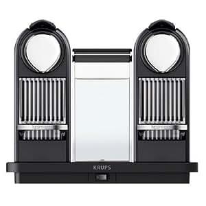 Krups XN7505, Negro, Acero inoxidable, 2520 W - Máquina de café