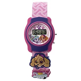 Nickelodeon Girl's Automatic Plastic and Polyurethane Casual WatchMulti Color (Model: PAWKD16021)