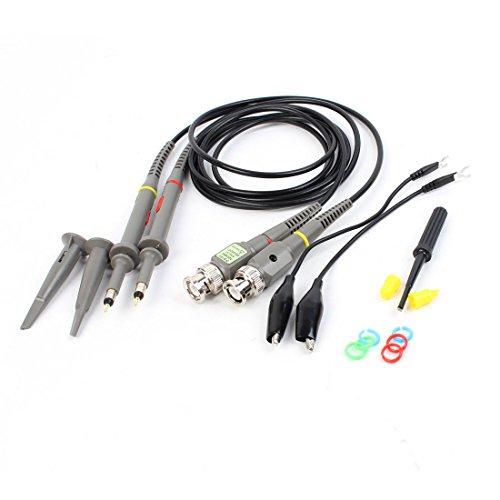 Pair X1 X10 60MHz Oscilloscope Scope Clip Probe for HP Tektronix 60 Mhz Scope