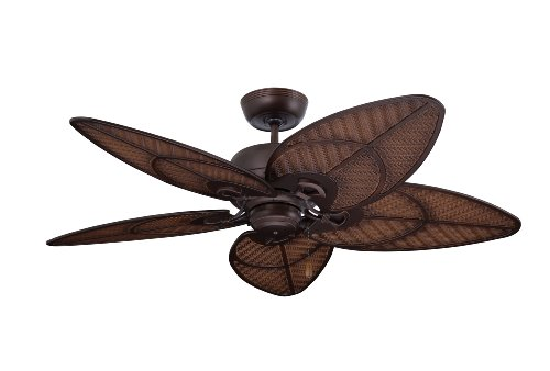 Emerson Ceiling Fans CF621VNB Batalie Breeze 52-Inch Indoor Outdoor Ceiling Fan, Wet Rated, Light Kit Adaptable, Venetian Bronze Finish (Light Kit Outdoor Fan)