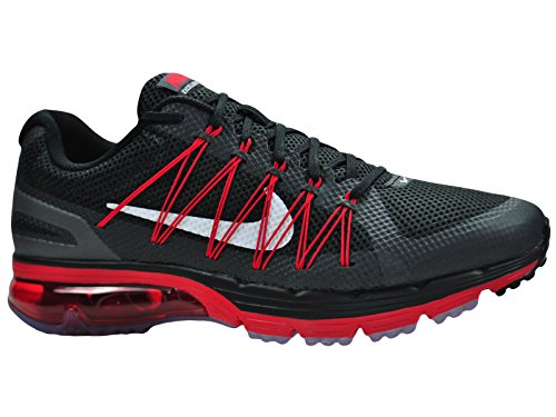 Nike Air Max Excellerate 3 Mens Running Shoes Black Red