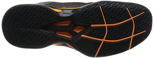 Noir PE Orange Court 2017 Noir Chaussures Homme All BABOLAT Jet FaTqag