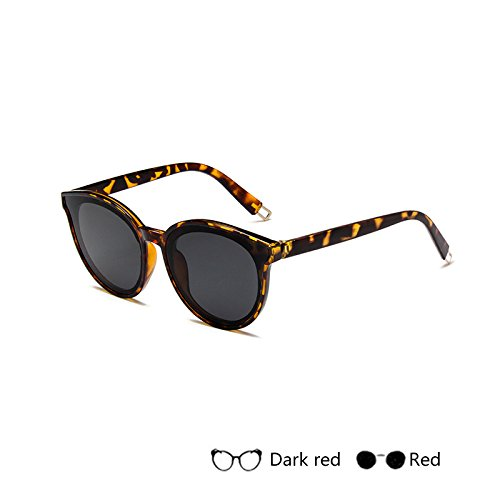 De Retro Gafas De H De Vintage Mujer Damas Gradiente Gafas Gafas Sol Espejo Lujo TIANLIANG04 Sol De G Para Bxnqw56OR