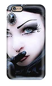 VzHkBiv1842KWiEB Tpu Phone Case With Fashionable Look For Iphone 6 - Goth Girl