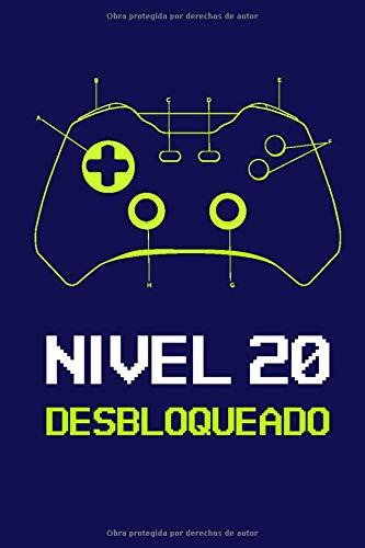 Nivel 20 Desbloqueado: Regalo de Cumpleaños 20 Años Para ...