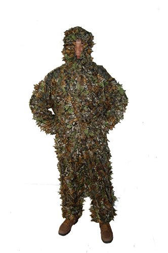 Ghillie Suit For Sale Cheap (Huntingdoor Woodland and Forest Design Ghillie Suit 3-D Leafy Ghillie Suit)