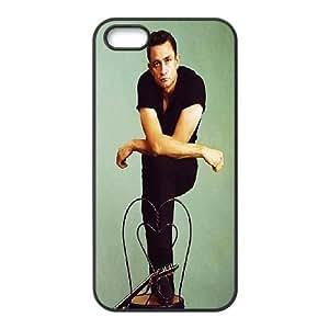 Johnny Cash iPhone 5,5S Hard Back Case, Johnny Cash Custom Cover Case, iPhone 5,5S DIY Case