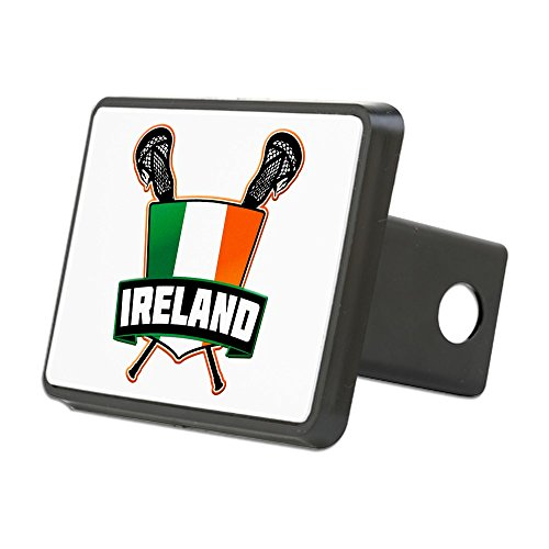 - CafePress - Ireland Irish Lacrosse Team Logo Hitch Cover - Trailer Hitch Cover, Truck Receiver Hitch Plug Insert