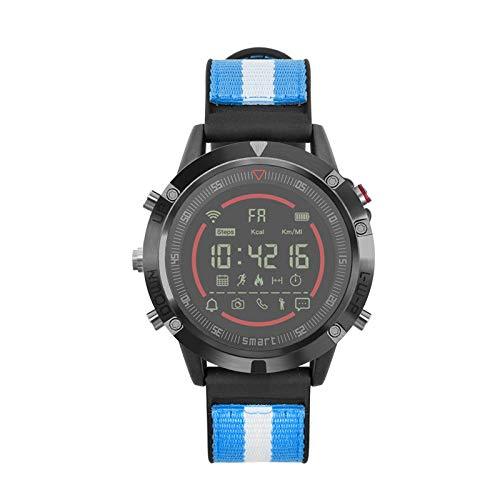 XANES IT152 IP67 Waterproof Sports Smart Watch Pedometer Sleep Monitor Fitness Smart Bracelet - Orange