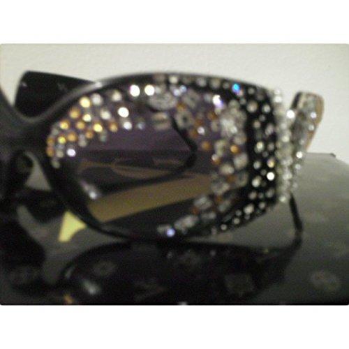 Crystal Frame Rhinestone Sun Glasses by Prima DND