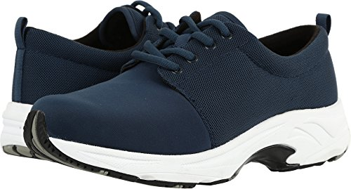 Drew Shoe Women's Excel Fashion Sneakers, Navy, Mesh, Rubber, 6 W