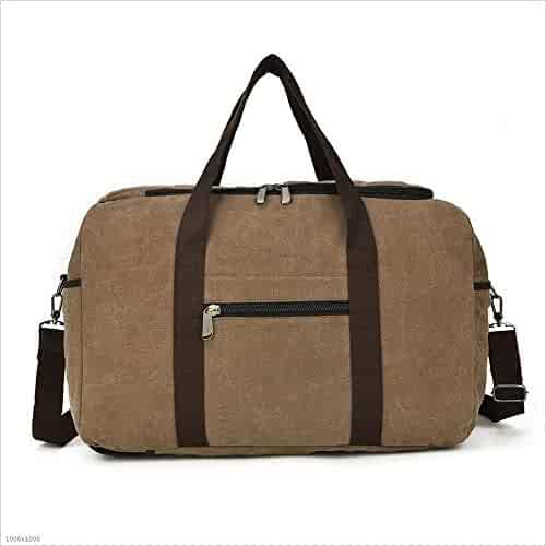 VRIKOO Retro Canvas Messenger Satchel Bag Casual School College Shoulder Bags for Men Women Bagages Army Green