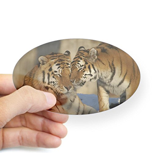sticker-clear-oval-large-nuzzling-tiger-love