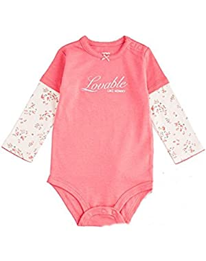 Loveable Like Mommy Long Sleeve Bodysuit