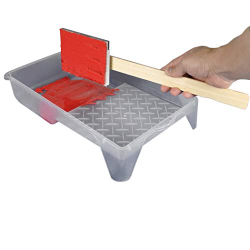Next by DANCO Apply.It Paint Edger Pad for Painting Walls w/Hard to Reach Spaces|Cutting in Edges|Paint Behind The Bathroom Toilet|Reusable Paint Brush Tool|Use with Paint Sticks, 2-Pack (10986P)