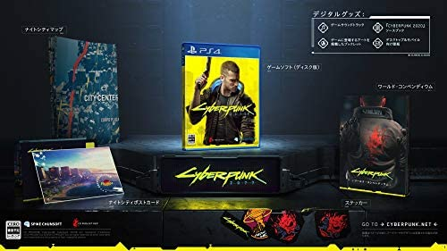 Amazon Co Jp Ps4 サイバーパンク77 Amazon Co Jp限定 Samuraiステッカー 付 ナイトシティpc スマホ壁紙 配信 ゲーム