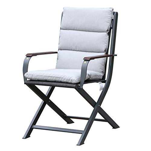 Westfield Outdoors Home & Garden Zircon Garden Dining Chair, Youth Large / 11-13, Anthracite/White