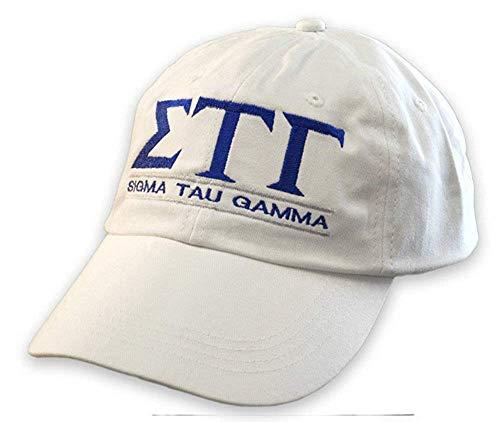 Sigma Tau Gamma World Famous Line Hat White