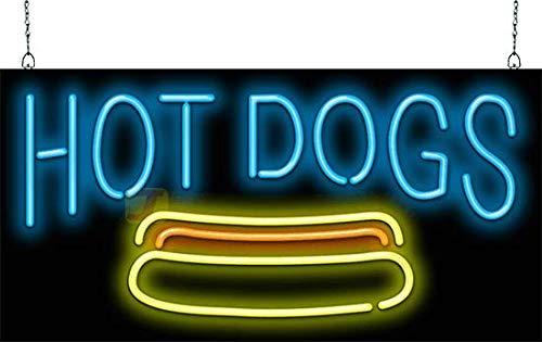 Amazon.com: Cartel de neón para perros calientes.: Home ...