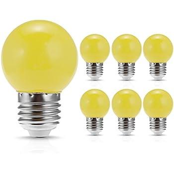Satco S9174 Led S14 Clear 2700k Medium Base Light Bulb 1