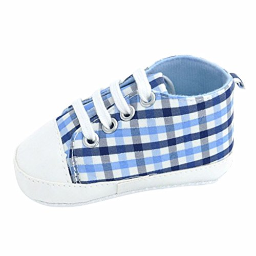 Ochine Bebe Lona Rayas Cuna Zapatos Chico Chica Zapatillas A6