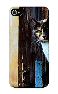 New Fashionable Summerlemond FTXxN0muAId Cover Case Specially Made For Iphone 5/5s(venetian Cat )